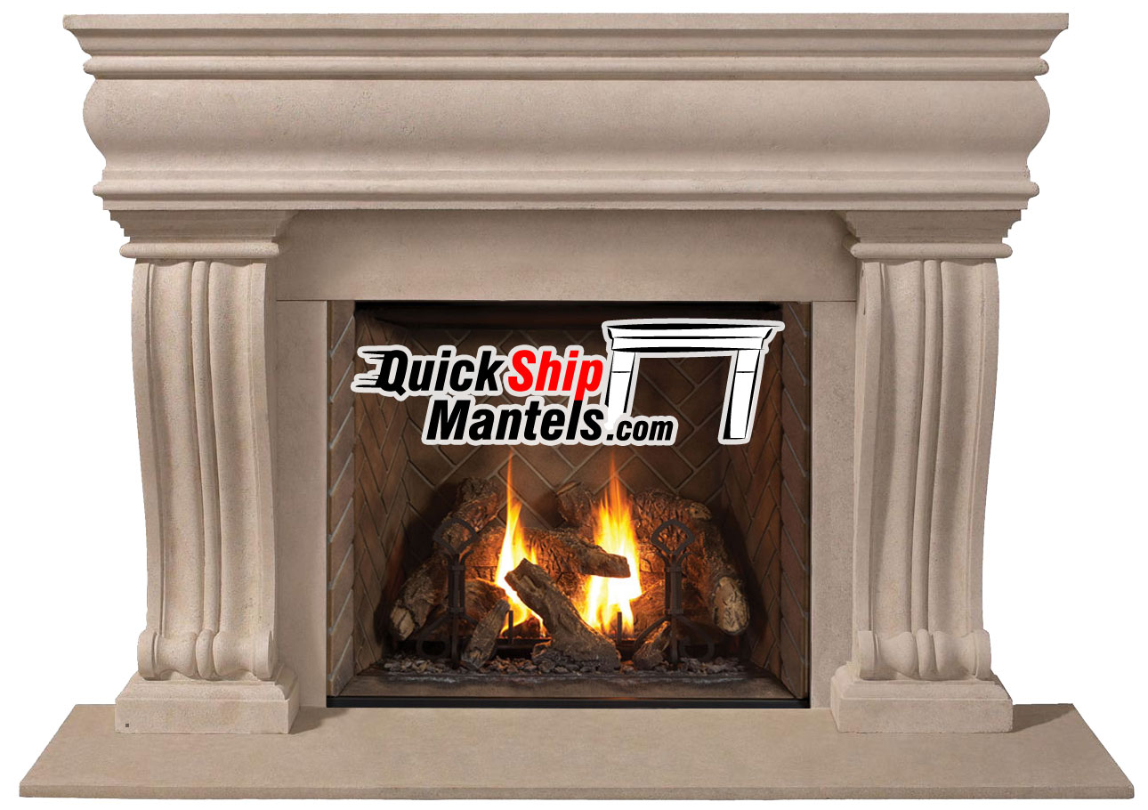grandstock pre cast fireplace mantels series 1106 536 stone