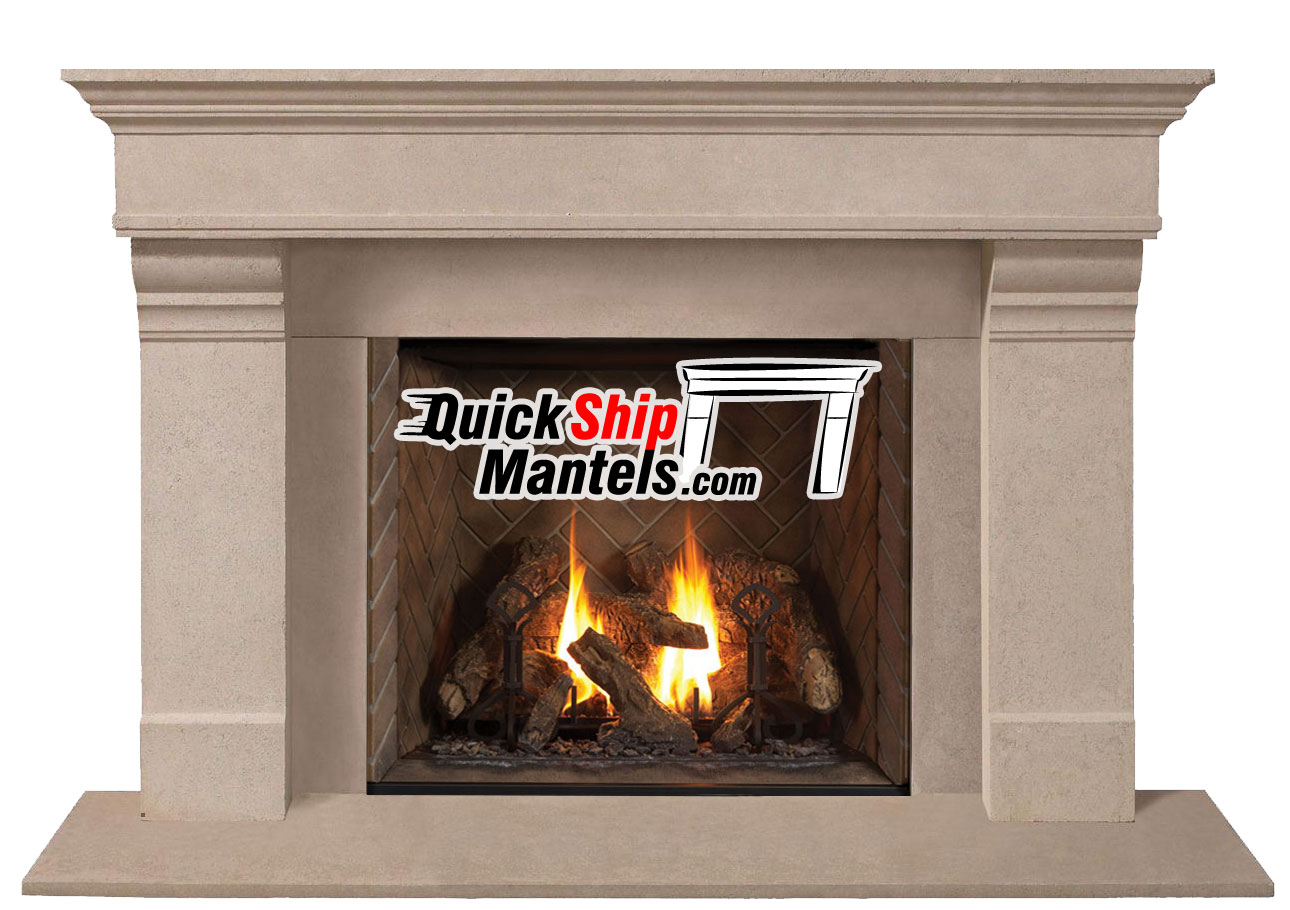 grandstock pre cast fireplace mantels series 1110 556 stone